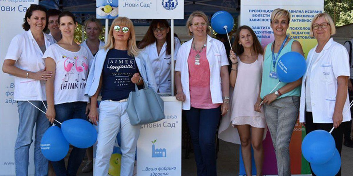 """Dom zdravlja """"Novi Sad"""" na Štrand Summer Fest-u image"""